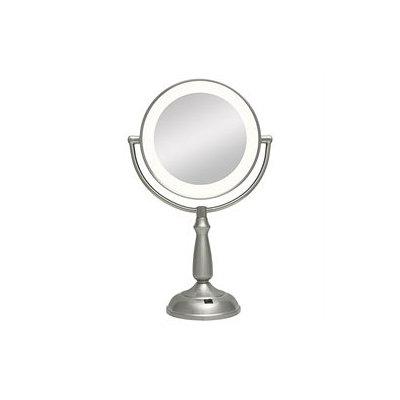 Zadro Health Solutions, Inc. Zadro - Super Bright LED Lighted Vanity Mirror LEDVPR410 Satin Nickel
