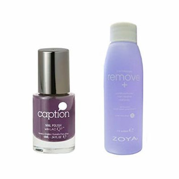 Bundle of Two Items: Caption Nail Polish in Totally Killing This .34 oz with Remove Plus Nail Polish Remover 2 oz