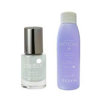 Bundle of Two Items: Caption Nail Polish in Do I Look Like an ATM? .34 oz with Nail Polish Remover 2 oz