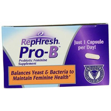 RepHresh Pro-B Probiotic Feminine Supplement-New Mega Size Package 2ct