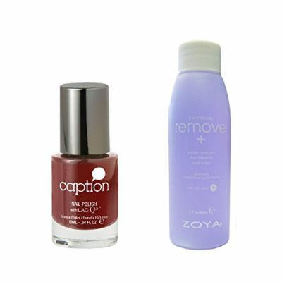 Bundle of Two Items: Caption Nail Polish in Talk is Cheap .34 oz with Remove Plus Nail Polish Remover 2 oz