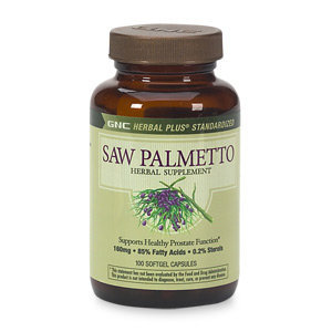 GNC Herbal Plus Saw Palmetto Plus Pygeum