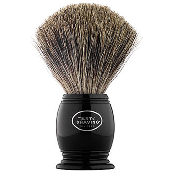 Art of Shaving The  Black Pure Badger Brush
