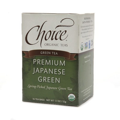 Choice Organic Teas Green Tea Premium Japanese Green