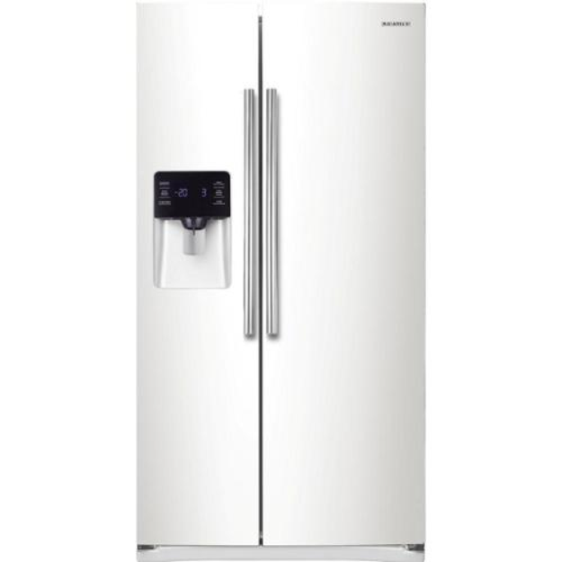 Samsung 24.5 cu. ft. Side-By-Side Refrigerator RS25H5111WW