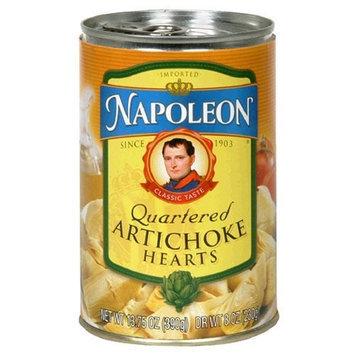 Napoleon Quartered Artichokes, 13.75-Ounce Tin (Pack of 6)