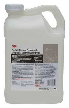 3M 59865 Neutral Floor Cleaner, Conc,2.5 gal.