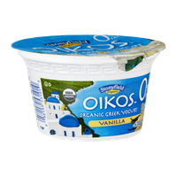 Stonyfield Organic Oikos 0% Fat Vanilla Greek Nonfat Yogurt