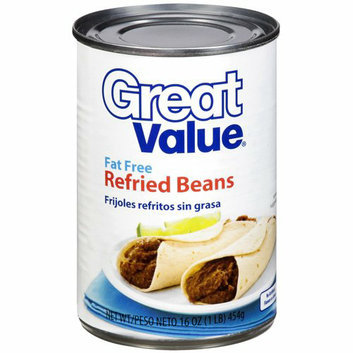 Great Value Fat Free Refried Beans