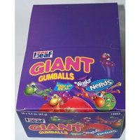 Wonka Giant Gumballs with Real Nerds