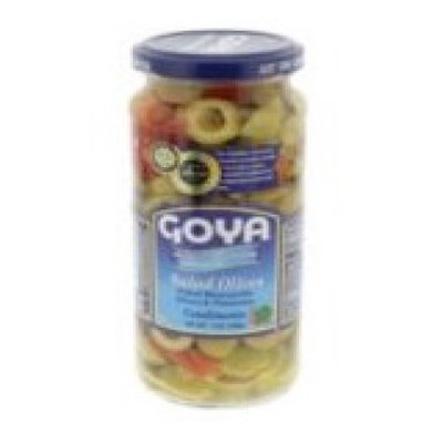 Goya Foods Goya Reduced Sodium Salad Olives