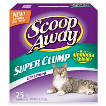 Scoop AwayA Super Clump Unscented Scoopable Cat Litter