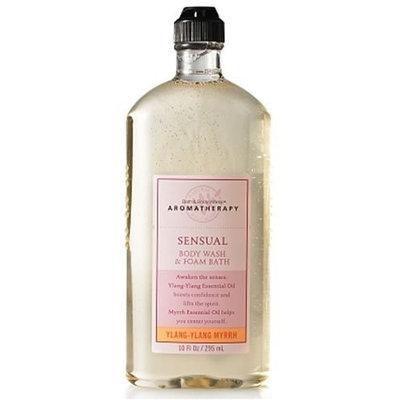 Bath & Body Works Aromatherapy Ylang-Ylang Myrrh Sensual Body Wash and Foam Bath 10 fl oz (295 ml)