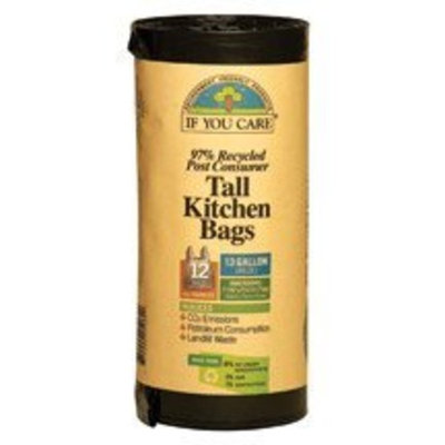 If You Care, Trash, Recycled, 13 Gal, 12.00 CT (Pack of 12) ( Value Bulk Multi-pack)
