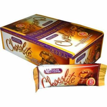 HealthSmart Chocolite Bar Chocolate Pecan Cluster Case of 16 24 Grams