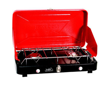 Texsport Compact Dual Burner Propane Stove - NEW