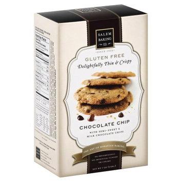Salem Baking Thin & Crispy Cookies Gluten Free Chocolate Chip 7 oz