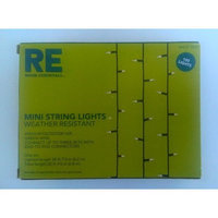 Target Room Essentials 100Lt Clear Mini Lights, Green Wire