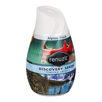 Renuzit Discovery Series Limited Edition Gel Air Freshener Alpine Fresh