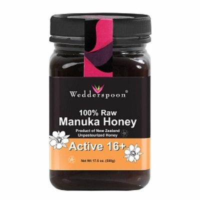Wedderspoon 100% Raw Organic Manuka Honey Active 16+