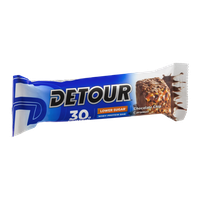 Detour 30g Protein Whey Protein Bar Lower Sugar Chocolate Chip Caramel