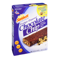 Sunbelt Fudge Dipped Chocolate Chip Chewy Granola Bars
