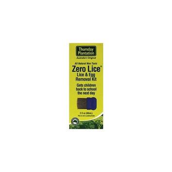 Nature's Plus Thursday Plantation Zero Lice - Lice And Egg Removal Kit -- 2 fl oz