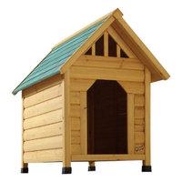 Vortex International Enterprises Alpine Lodge Dog House - Brown (Medium)