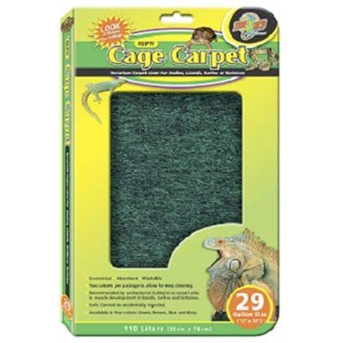Zoo Med Reptile Cage Carpet for 5 Gallon Tanks, 16 x 8-Inches