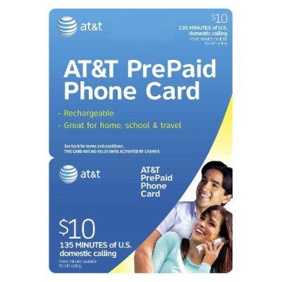 AT&T $10 Flat Rate Phone Card