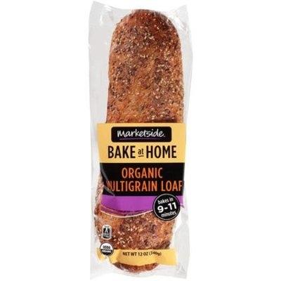 Marketside Bake at Home Organic Multigrain Loaf, 12 oz