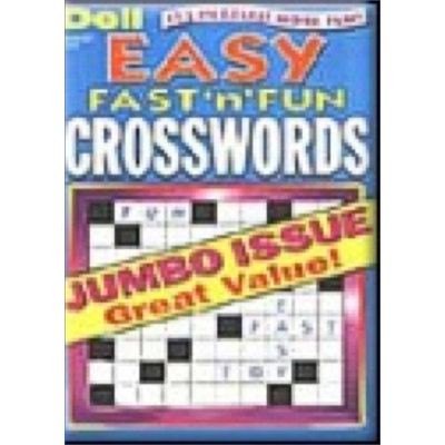 Kmart.com Easy Fast n' Fun Crosswords Magazine - Kmart.com