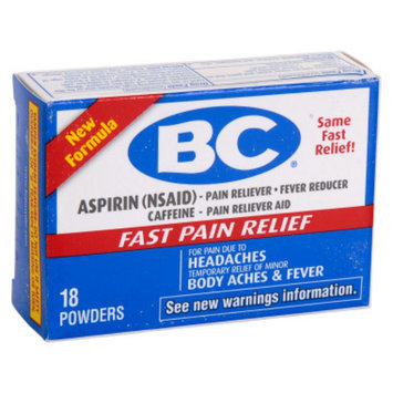 BC Aspirin Pain Relief Powder - 18 ct