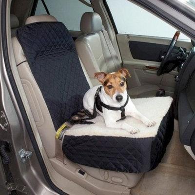 Snoozer Half Bench Lookout Perch Pet Car Seat, Black