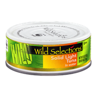 Wild Selections Solid Light Tuna in Water