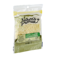 Nature's Promise Organics Organic Shredded Mozzarella Cheese