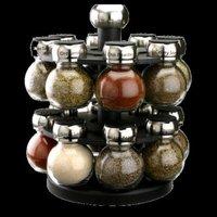 Olde Thompson 16 Jar Orbit Revolving Spice Rack