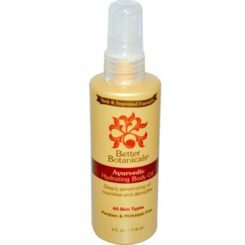 Better Botanicals Ayurvedic Hydrating Body Oil 4 fl oz