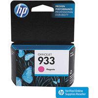 HP 933 Officejet Printer Ink Cartridge - Magenta (CN059AN#140)