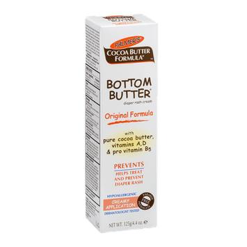 Palmer's Cocoa Butter Formula Bottom Butter Diaper Rash Cream Original Formula