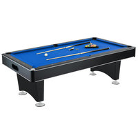 Hathaway Hustler Pool Table Blue