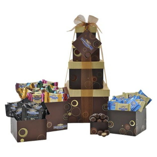 Ghirardelli Sensational Sweets Four Tier Gift Tower