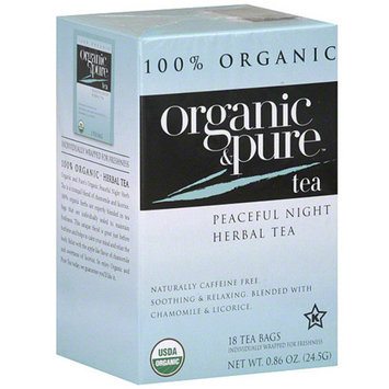 Organic & Pure Herbal Tea Bags