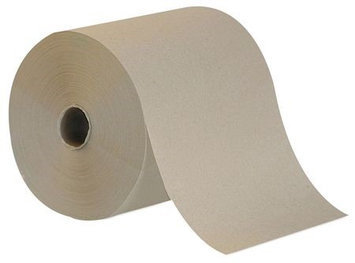 TOUGH GUY 38X645 Paper Towel Roll, Brown,800 Ft, PK6