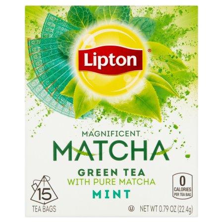Lipton Matcha Green Tea and Mint