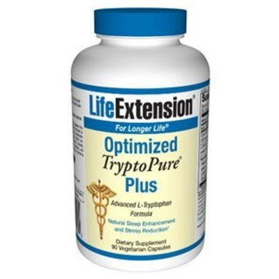 Life Extension Optimized TryptoPure; Plus 90 vegetarian capsules ( Multi-Pack)