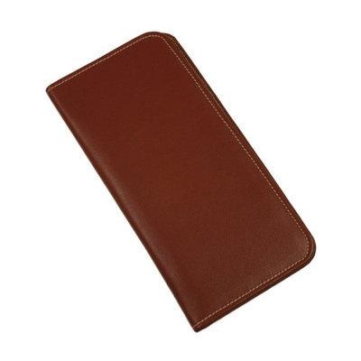Piel Leather - Passport/Ticket Holder 8996 - Red Leather