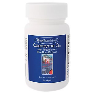 Allergy Research nutricology Allergy Research Group, Coenzyme Q10 with Tocotrienols 30 softgels