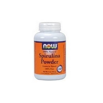 NOW Foods - Spirulina Powder 100 Pure and Natural - 4 oz.