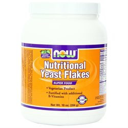 NOW Foods - Nutritional Yeast Flakes - 10 oz.